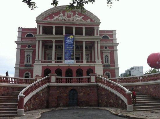 Teatro Amazonas: Bela Arquitetura!!!
