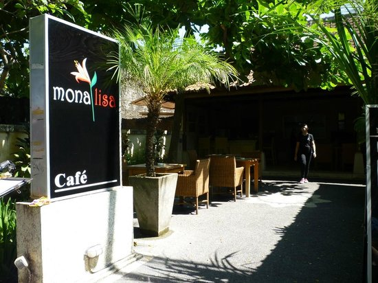 Mona Lisa Cafe : Entrance