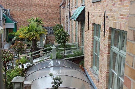 Hotel Koffieboontje: vue de la chambre