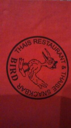 Bird Thai Restaurant: the logo of the restaurant