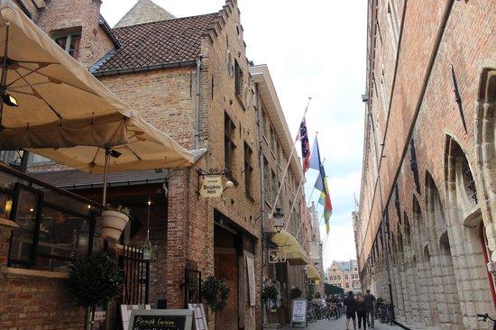Hotel Koffieboontje: rue de l'hôtel