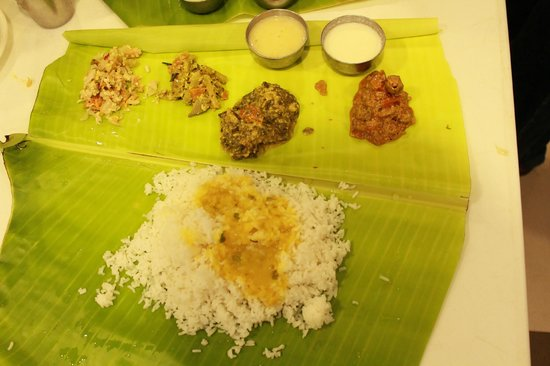Sree Sabarees : lunch,, authentic south indian food