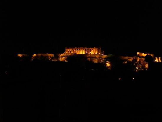 City Circus Athens: Night Rooftop View City Circus