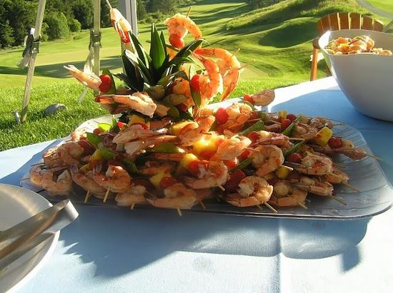 Vermont Supper Club: Asian Marinated Shrimp and Pineapple Kabobs