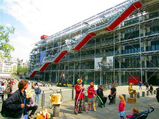 Hotel Saint-Honore : Le Pompidou Center