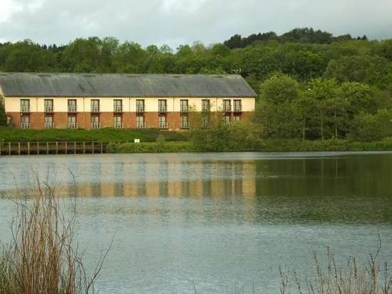 Days Inn Lockerbie Annandale Water: View from across the lake.