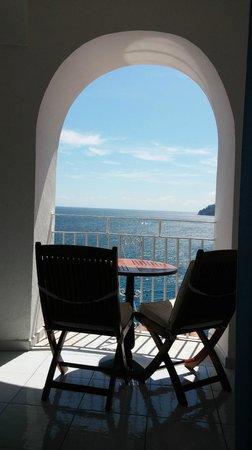 Hotel Marina Riviera: la visuale dalla stanza