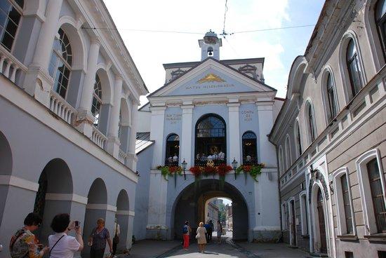 Hotel Domus Maria: Ворота в Старый город по соседству с отелем