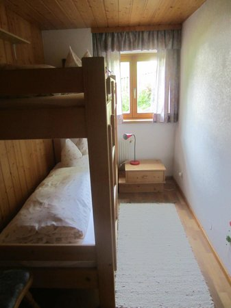 Pension Faneskla: the small sleeping room (nescharina)