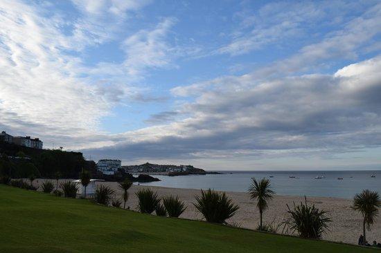 Porthminster Beach Cafe: the view