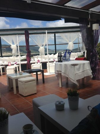Restaurante Mar de Ardora: Terraza chill out.