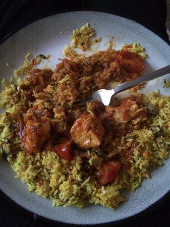 Tudor Raj: Chicken patia