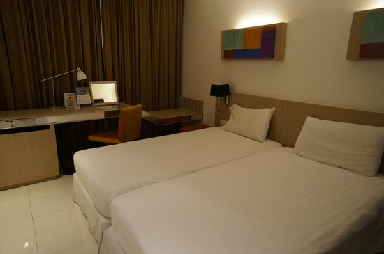 Vic3 Bangkok: standard double bed