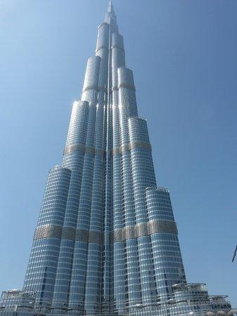 Park Regis Kris Kin Hotel: la tour burj khalifa