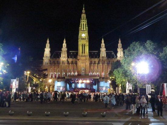 """Europa singt"" am Rathausplatz"