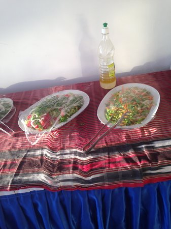 Sky Beach Hotel: warm salad
