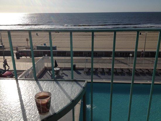 Quality Inn Boardwalk: Balcony view