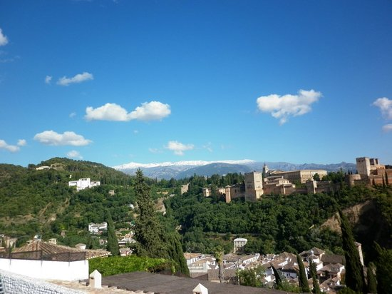 Play Granada : desde el mirador San Nicolas