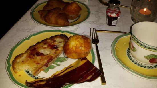 Casa de Tepa: desayuno