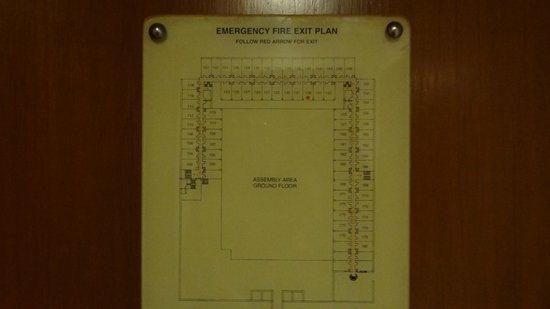 Trident, Agra: Floor Plan