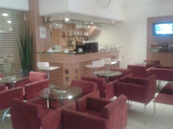 Atlantico Business Centro: sala de bate papo