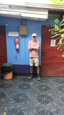 Nicaragua Guest House: Im Innenhof