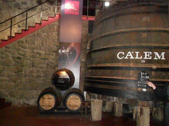Porto Calem: na cave