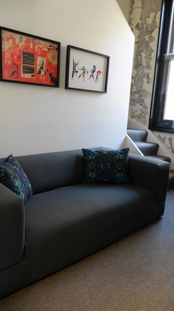Ovolo 1888 Darling Harbour: Sofa area on the lower deck