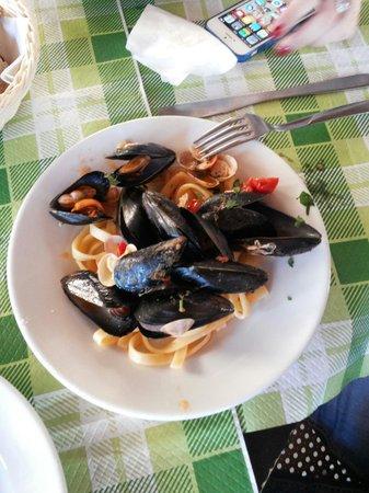 Pizzeria da Fulvio: Tagliatelle ai frutti di mare