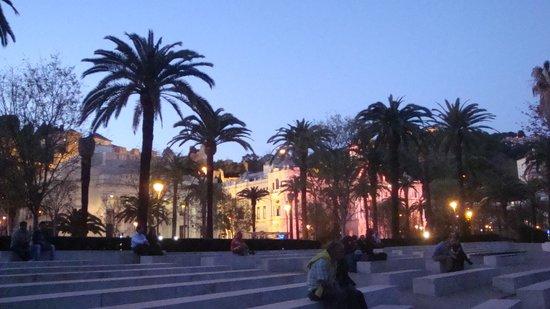 Barcelo Malaga: Evening in Malaga