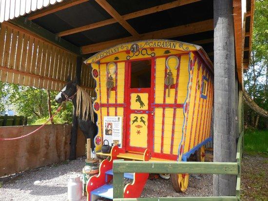 Kerry Bog Village Museum: Bog Village Gypsy Caravan