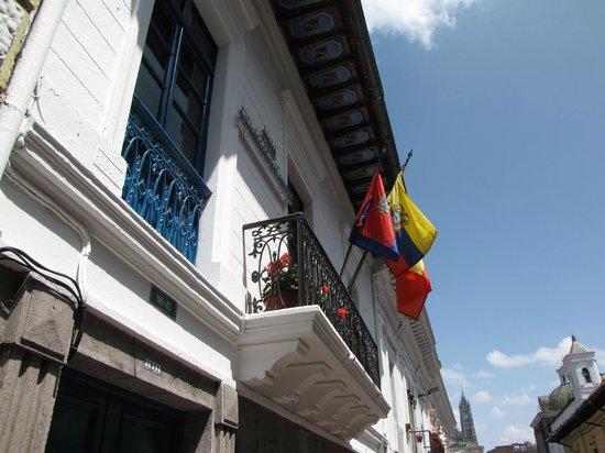 Exterior of Hotel El Relicario del Carmen