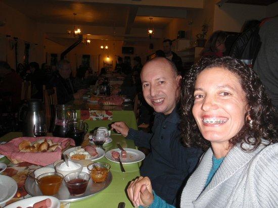 Café Colonial Recanto dos Plátanos: Comemorando nossos 23 anos de casados.