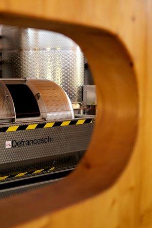 Bodegas Binifadet: Wine Making Machinery at Binifadet (c) Josh Murray