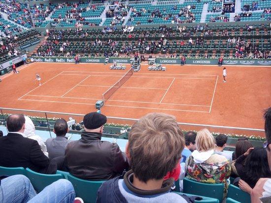 Stade Roland Garros: Venus Williams on Chatrier