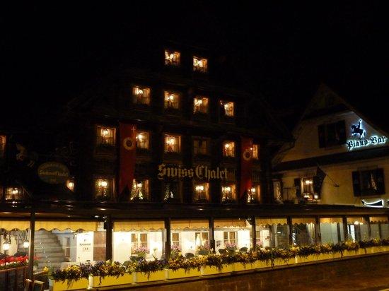 Restaurant Cuisine Française: Swiss chalet