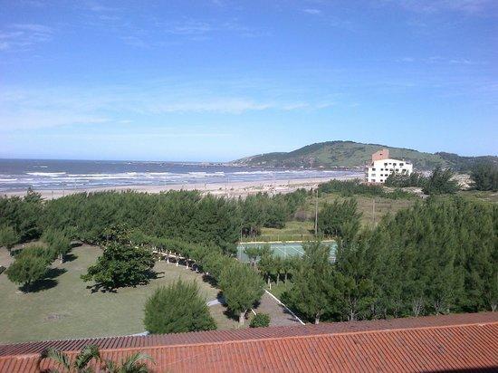 Ravena Cassino Hotel : vista da sacada do quarto