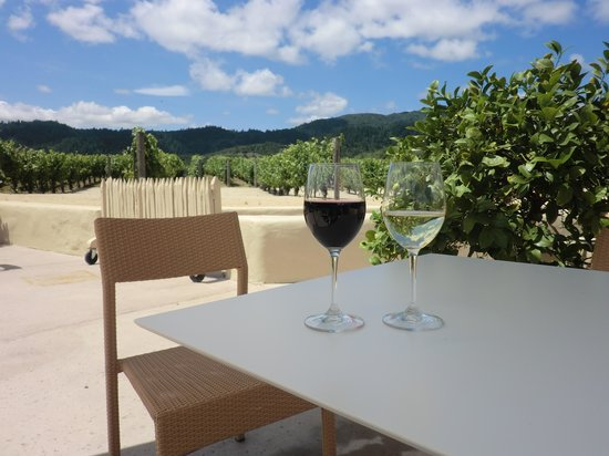 Robert Mondavi Winery : ぶどう畑を楽しみながらワインを堪能