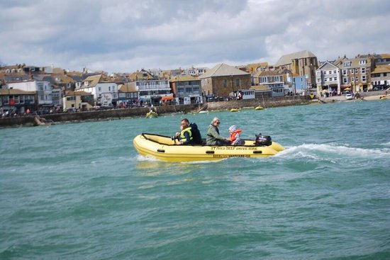 St Ives Self Drive Motor Boats