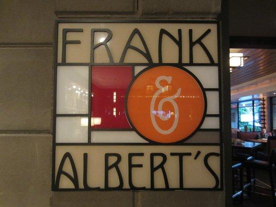 Frank & Alberts - The Arizona Biltmore: Restaurant sign