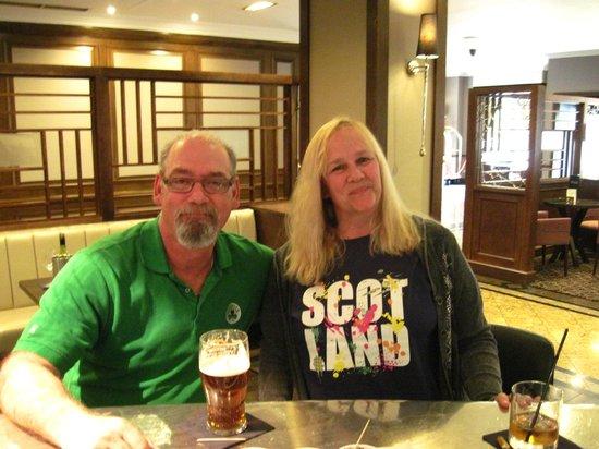 Macdonald Holyrood Hotel: Last day smiles