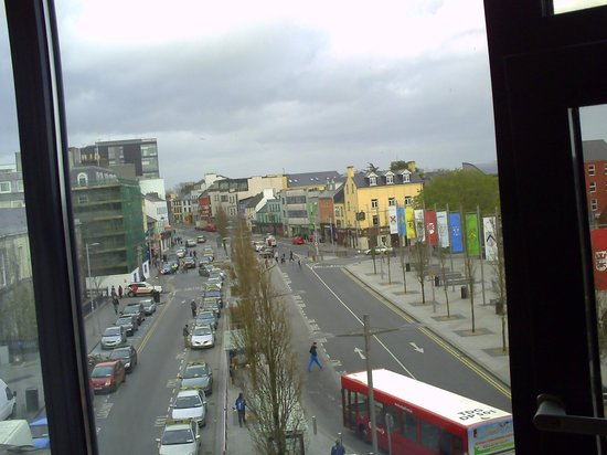 Imperial Hotel Galway: view taken from our window, galway bay to the right 04/08/14