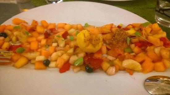 Le 6e Sens : Dessert salade de fruit