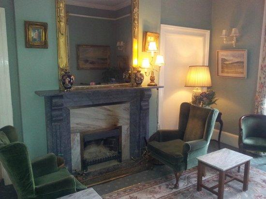 Rosleague Manor Hotel : Sitting area