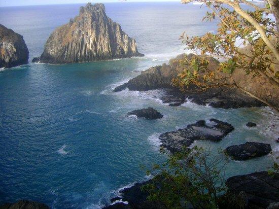 Baia dos Porcos: Vista da Baía do alto do mirante