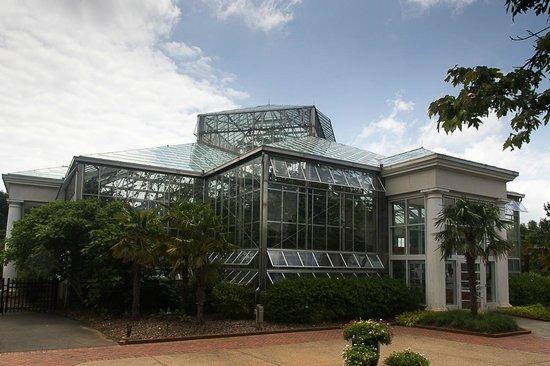 Daniel Stowe Botanical Garden : Orchard Greenhouse