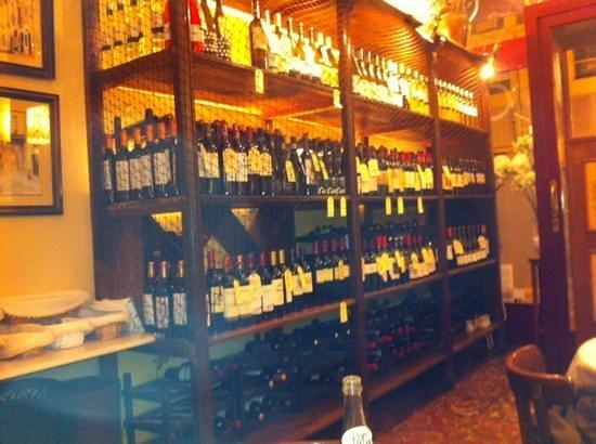 Restaurante El Encuentro: the winelist