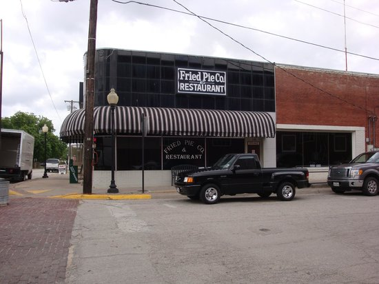 Fried Pie Co and Restaurant .: From across the street