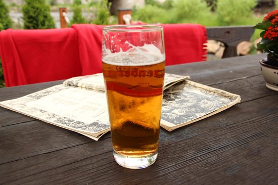 U Dwau Maryi: beer