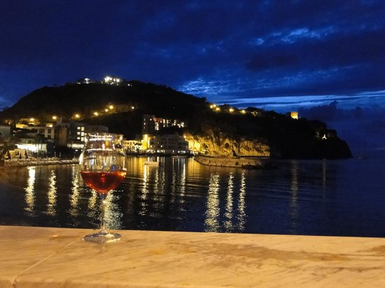La Sirenella: A view from our dining table